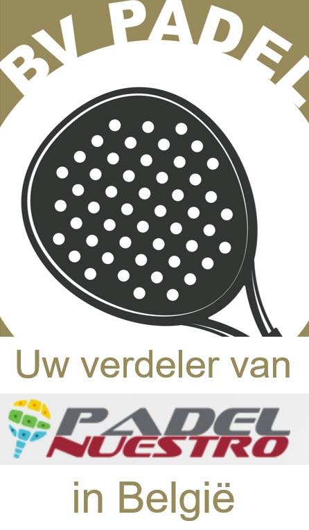 Logo BV Padel verdeler van Padel Nuestro in België
