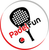 Nieuw logo van padelfun.be seder 21 december 2020