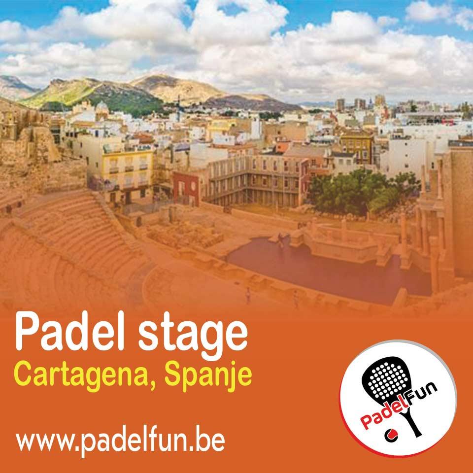 Ga op padelstage naar Cartagena