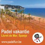 Ga op padelvakantie naar Lloret de Mar